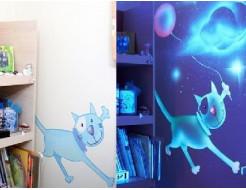 Краска флуоресцентная AcmeLight для интерьера белая - изображение 2 - интернет-магазин tricolor.com.ua