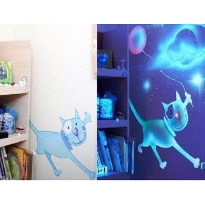 Краска флуоресцентная AcmeLight Fluorescent Interior для интерьера белая - изображение 2 - интернет-магазин tricolor.com.ua