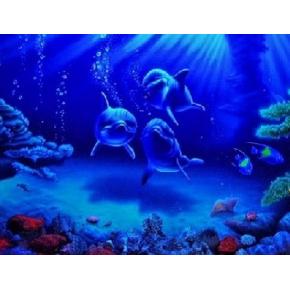 Краска флуоресцентная AcmeLight Fluorescent Interior для интерьера синяя - изображение 2 - интернет-магазин tricolor.com.ua