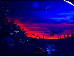 Краска флуоресцентная AcmeLight для интерьера красная - изображение 2 - интернет-магазин tricolor.com.ua