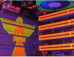 Краска флуоресцентная AcmeLight для интерьера оранжевая - изображение 2 - интернет-магазин tricolor.com.ua