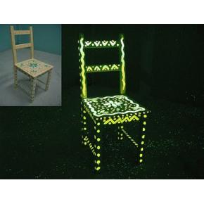 Краска люминесцентная AcmeLight Wood для дерева желтая - интернет-магазин tricolor.com.ua