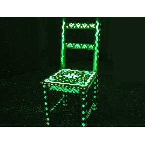Краска люминесцентная AcmeLight Wood для дерева зеленая - изображение 3 - интернет-магазин tricolor.com.ua