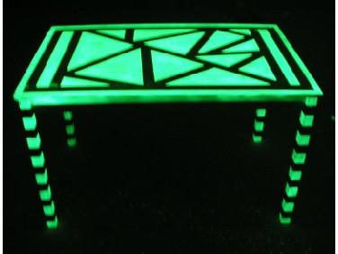 Краска светящаяся AcmeLight для дерева зеленая