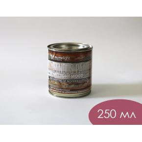 Краска люминесцентная AcmeLight Wood для дерева красная - изображение 4 - интернет-магазин tricolor.com.ua