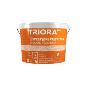 Штукатурка структурная акриловая «барашек» Triora 1-1,5 мм