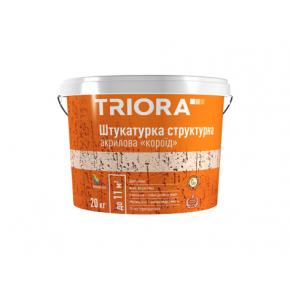 Штукатурка структурная акриловая «короед» Triora 1-1,5 мм