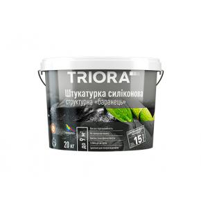 Штукатурка структурная силиконовая «барашек» Triora 1-1,5 мм