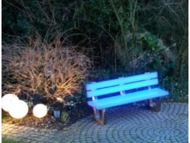 Краска люминесцентная AcmeLight для дерева голубая