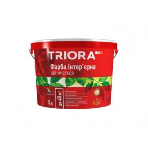 Краска интерьерная акриловая моющаяся Triora