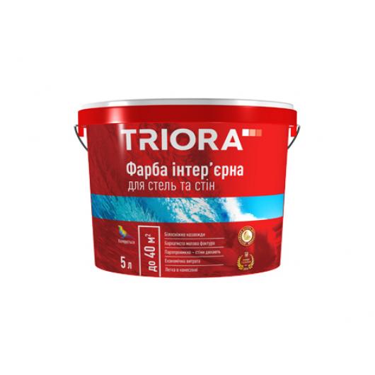 Краска интерьерная акриловая для стен и потолков Triora