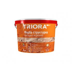 Краска структурная фасадная акриловая Triora