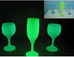 Купить Краска светящаяся AcmeLight для стекла зеленая (обжиговая) - 3