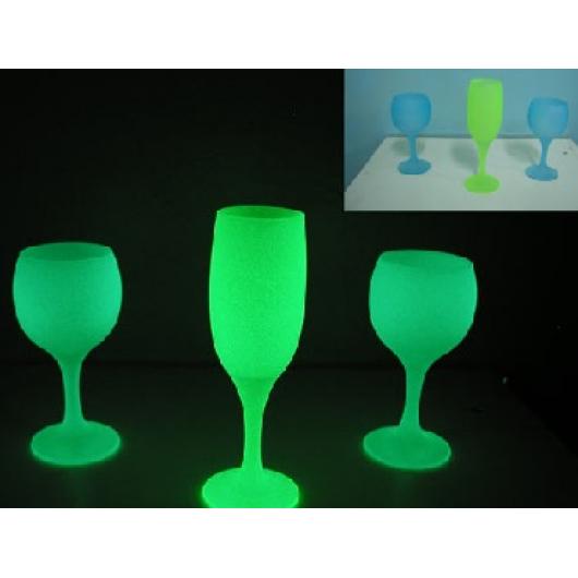 Краска люминесцентная AcmeLight для стекла зеленая (обжиговая) - изображение 2 - интернет-магазин tricolor.com.ua