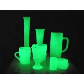 Краска люминесцентная AcmeLight Glass Original для стекла обжиговая зеленая - интернет-магазин tricolor.com.ua