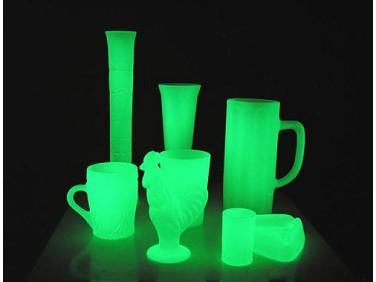 Краска люминесцентная AcmeLight для стекла зеленая (обжиговая)