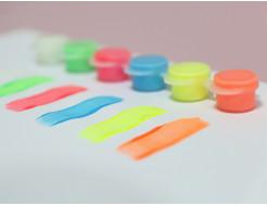 Набор люминесцентных красок для творчества AcmeLight 6x2 мл - изображение 5 - интернет-магазин tricolor.com.ua