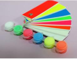 Набор люминесцентных красок для творчества AcmeLight 6x2 мл - изображение 7 - интернет-магазин tricolor.com.ua