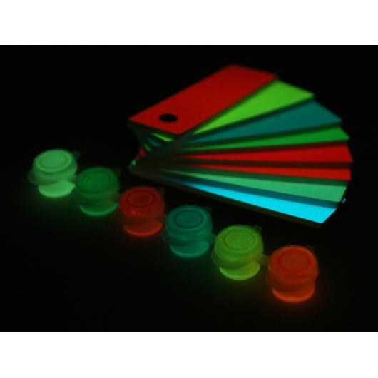 Набор люминесцентных красок для творчества AcmeLight 6x2 мл - изображение 8 - интернет-магазин tricolor.com.ua
