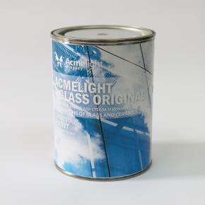 Краска люминесцентная AcmeLight Glass Original для стекла обжиговая белая - изображение 3 - интернет-магазин tricolor.com.ua