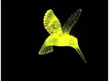 Краска люминесцентная AcmeLight для стекла желтая (обжиговая)