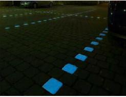 Краска люминесцентная AcmeLight для бетона голубая - изображение 2 - интернет-магазин tricolor.com.ua