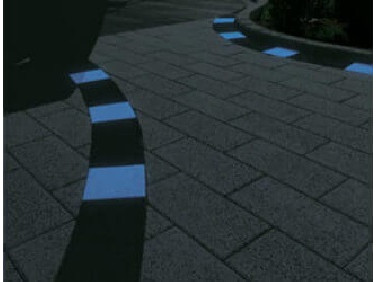 Краска люминесцентная AcmeLight для бетона голубая
