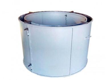 Форма кольца колодезного №2 BF стенка 2 мм профильная труба 20х20 H-89 D-60/74