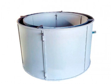 Форма кольца колодезного №3 BF стенка 4 мм профильная труба 40х40 H-89 D-70/84