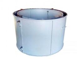 Форма кольца колодезного КС-1000-2 BF стенка 2 мм профильная труба 20х20 H-89 D-100/118 - изображение 2 - интернет-магазин tricolor.com.ua