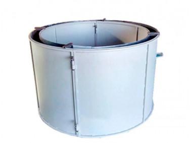 Форма кольца колодезного №5 BF стенка 4 мм профильная труба 40х40 H-89 D-100/118