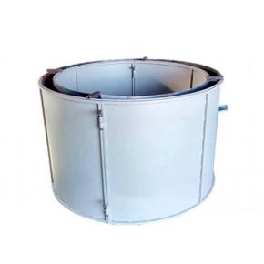 Форма кольца колодезного КС-1200-4 BF стенка 4 мм профильная труба 40х40 H-89 D-120/138 - интернет-магазин tricolor.com.ua