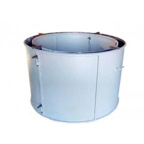 Форма кольца колодезного КС-1500-2 BF стенка 2 мм профильная труба 20х20 H-89 D-150/170 - изображение 2 - интернет-магазин tricolor.com.ua