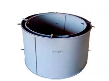 Форма кольца колодезного КС-1500-2 BF стенка 2 мм профильная труба 20х20 H-89 D-150/170