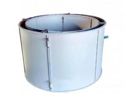 Форма кольца колодезного КС-2000-2 BF стенка 2 мм профильная труба 20х20 H-89 D-200/220 - изображение 4 - интернет-магазин tricolor.com.ua