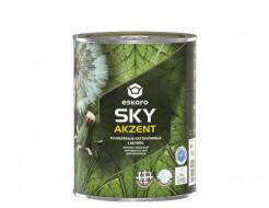 Краска акрилатная для потолков Eskaro Akzent Sky глубокоматовая белая - изображение 2 - интернет-магазин tricolor.com.ua