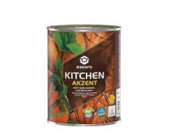 Краска акриловая Eskaro Akzent Kitchen влагостойкая матовая белая - изображение 2 - интернет-магазин tricolor.com.ua