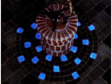 Краска люминесцентная AcmeLight для бетона синяя