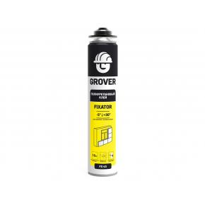 Клей полиуретановый Grover FX45 для теплоизоляции газобетона пористой керамики