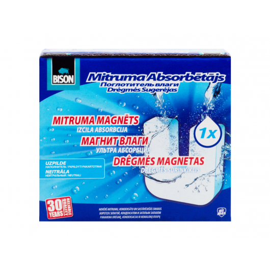 Сменная таблетка для влагопоглотителя Bison универсальная 450 г - интернет-магазин tricolor.com.ua
