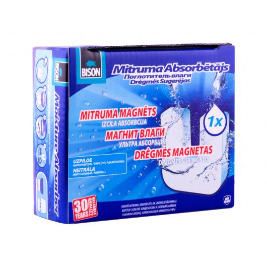 Сменная таблетка для влагопоглотителя Bison универсальная 450 г - изображение 3 - интернет-магазин tricolor.com.ua