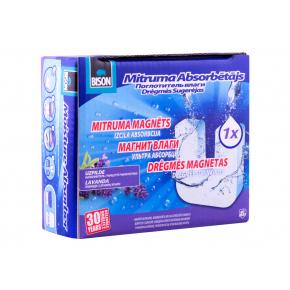 Сменная таблетка для влагопоглотителя Bison универсальная 450 г лаванда - изображение 4 - интернет-магазин tricolor.com.ua