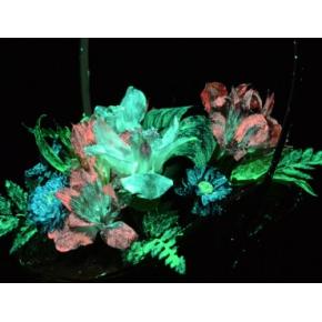 Краска люминесцентная AcmeLight Flower для цветов розовая