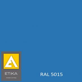 Краска порошковая полиэфирная Etika Elektro Синяя RAL 5015 глянцевая