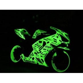 Краска люминесцентная AcmeLight Metal 2К для металла желтая - интернет-магазин tricolor.com.ua