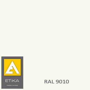Краска порошковая полиэфирная Etika Elektro Белая RAL 9010 матовая