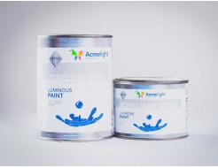 Краска люминесцентная AcmeLight для металла (2К) классик голубой - изображение 4 - интернет-магазин tricolor.com.ua