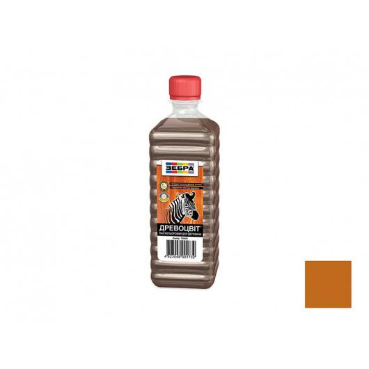 Лак цветной полуглянцевый «Древоцвет» Zebra махагон - интернет-магазин tricolor.com.ua