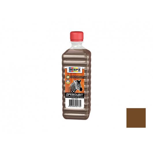 Лак цветной полуглянцевый «Древоцвет» Zebra палисандр - интернет-магазин tricolor.com.ua