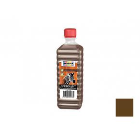 Лак цветной полуглянцевый «Древоцвет» Zebra орех - интернет-магазин tricolor.com.ua